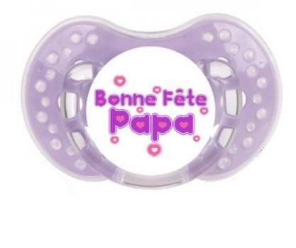 Sucette Bonne fête papa