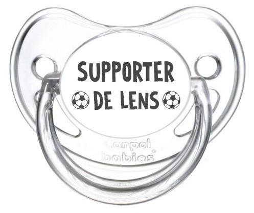 Sucette foot Supporter Lens