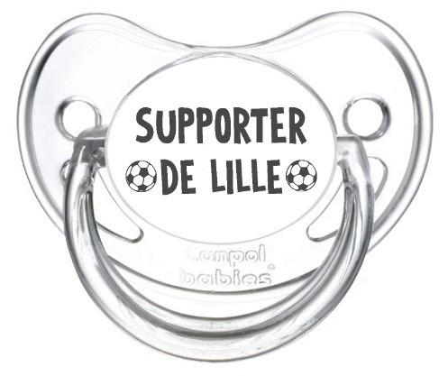 Sucette foot Supporter Lille