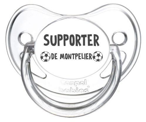 Sucette foot Supporter Montpelier