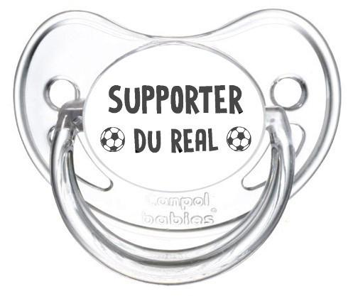 Sucette foot Supporter Real Madrid