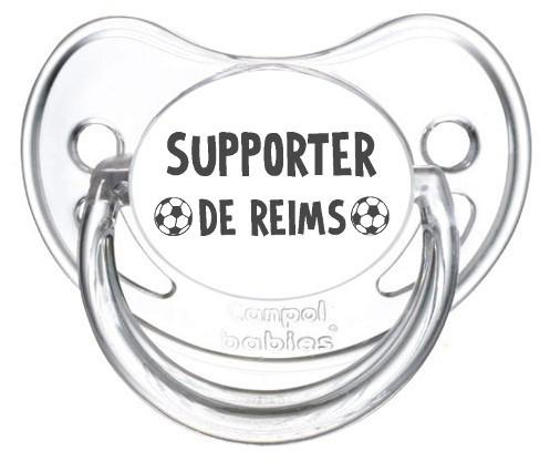 Sucette foot Supporter Reims