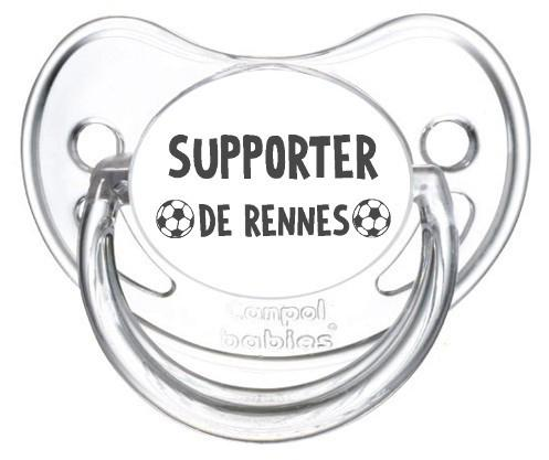 Sucette foot Supporter Rennes