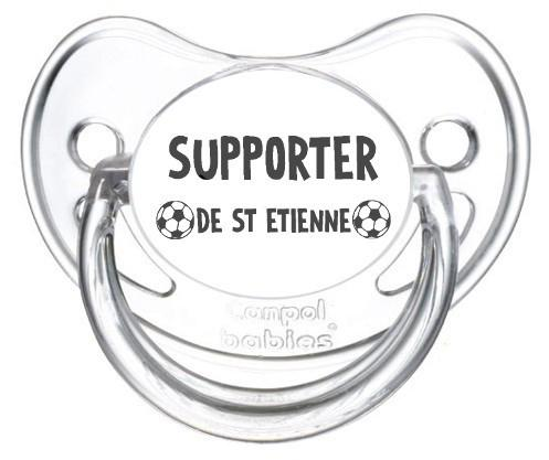 Sucette foot Supporter St Etienne