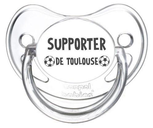 Sucette foot Supporter Toulouse