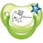 Sucette personnalisée chien prénom
