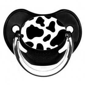 Sucette de bébé vache
