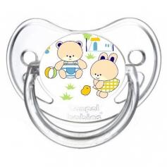 Sucette de bébé nounours
