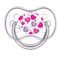 Sucette de bébé sucette coeur